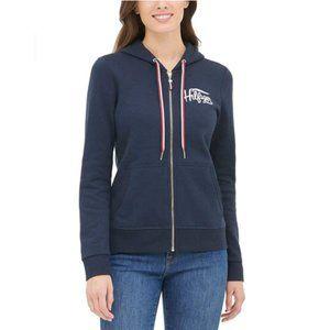 Tommy Hilfiger Ladies' Fleece Lined Full Zip Hoodi